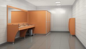 Compact Laminate Cubicle: For Effective Hygiene in Wc Cabin (Cubicles) Using