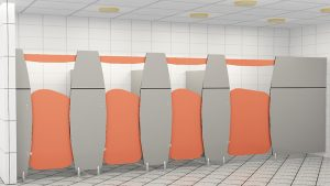 What are the features of a useful and quality compact laminate cubicle